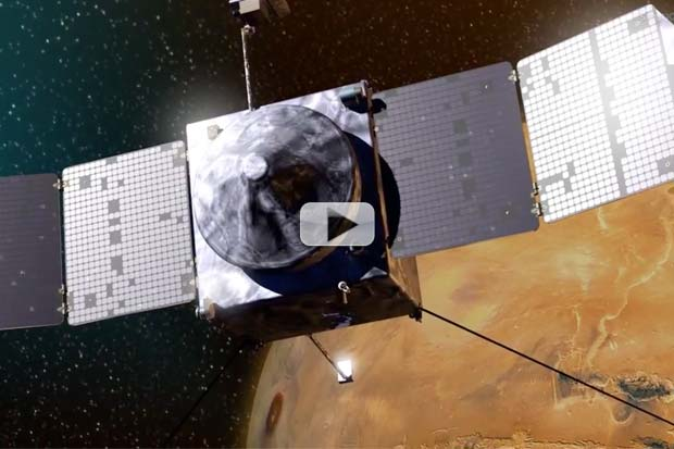Why Is Mars A Desert Wasteland? NASA MAVEN Mission Will Investigate | Video