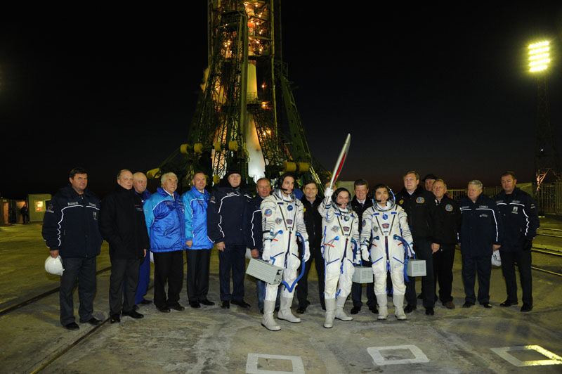 Olympic Torch Headed to Space