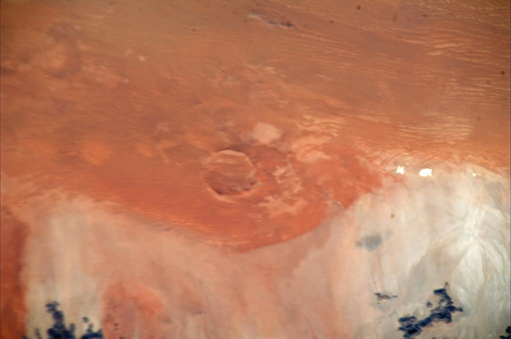 Luca Parmitano: Roter Kamm Impact Crater