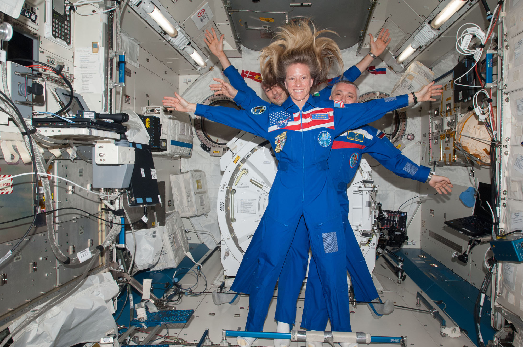 Space Station Crew and Olympic Torch Return to Earth Tonight: Watch Live