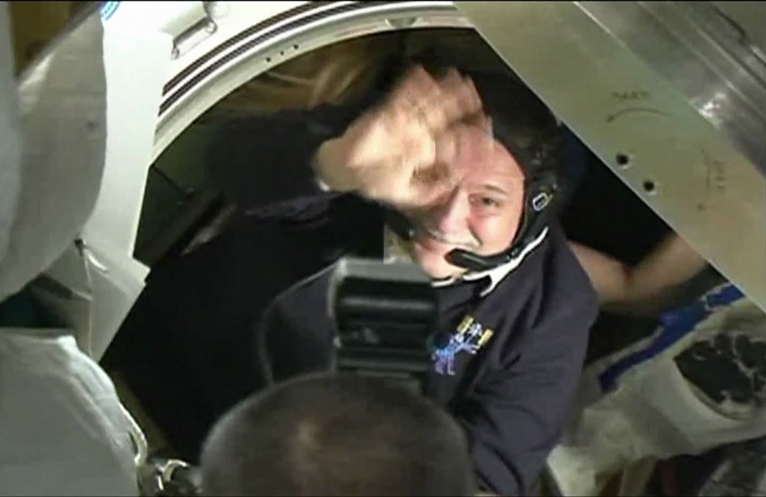 Cosmonaut's Farewell: Fyodor Yurchikhin