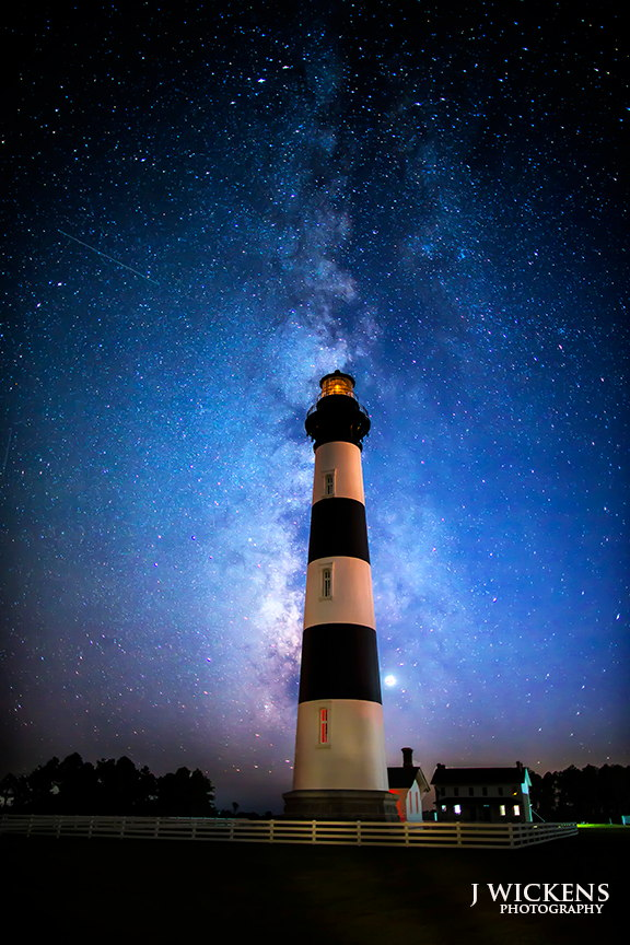 Milky Way Over Bodie Island Lighthouse, NC