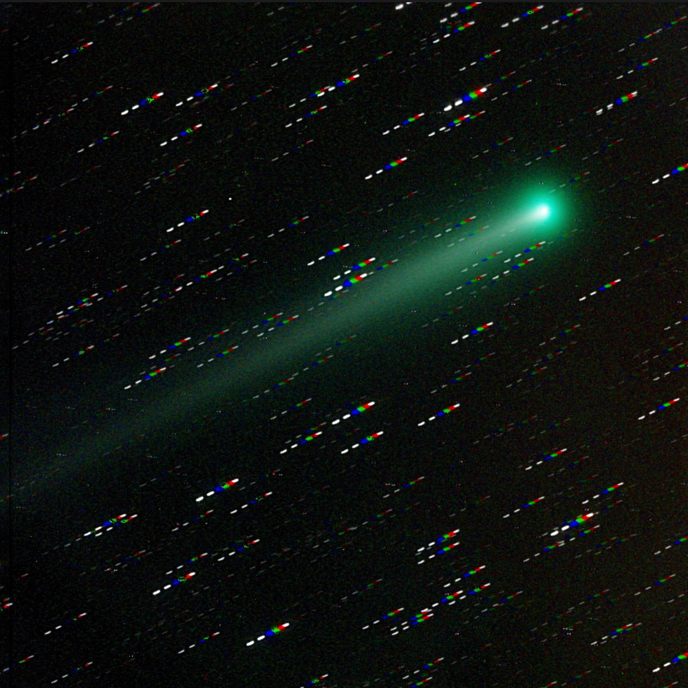 Comet ISON Photographed by Mike Hankey
