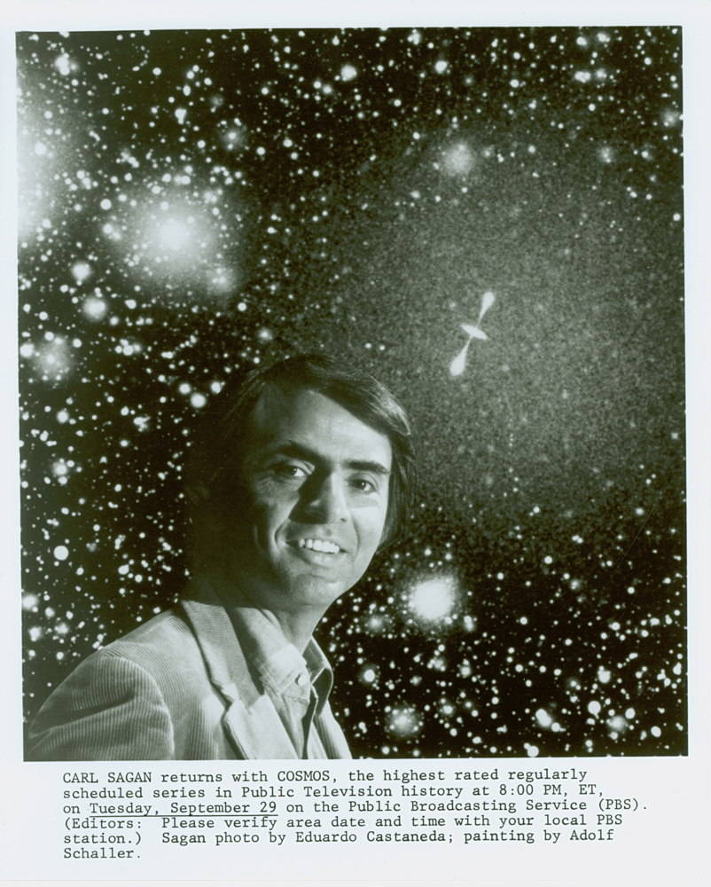 Carl Sagan Archive Opens at U.S. Library of Congress