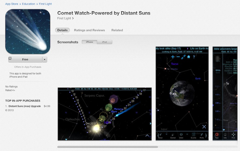 How to See Comet ISON: New App Points the Way