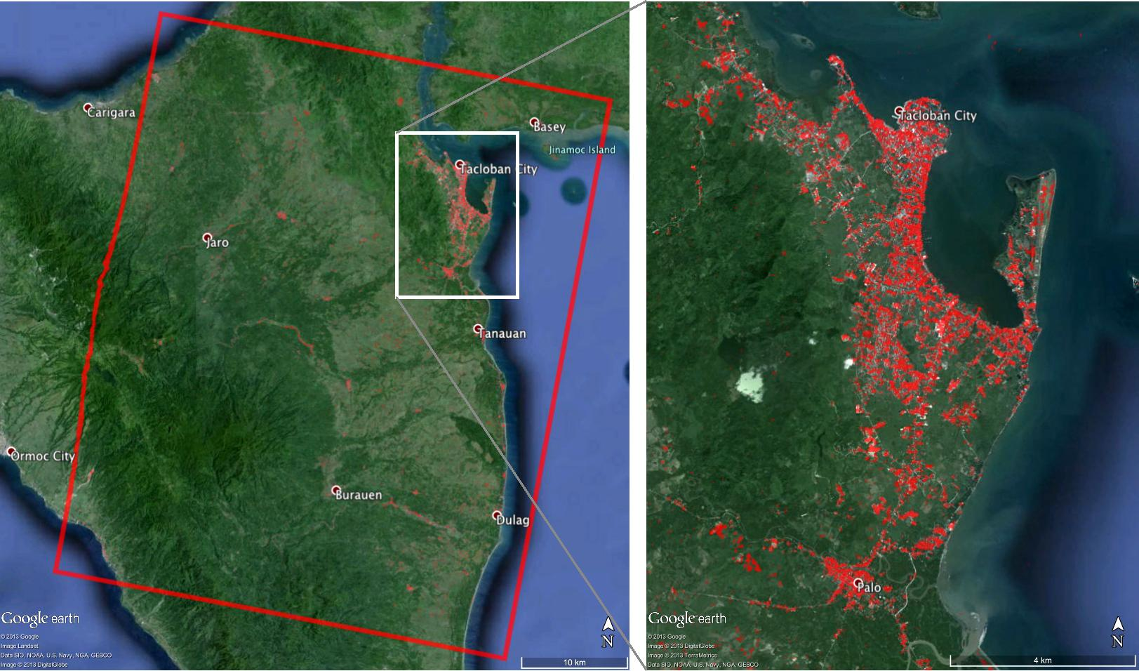 NASA Maps to Aid Super Typhoon Haiyan Disaster Relief