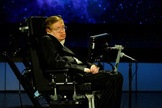 "Professor Stephen Hawking speaks about ""Why We Should Go into Space"" for the NASA Lecture Series, April 21, 2008."