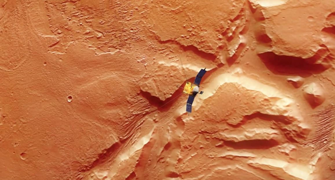 Solving a Martian Mystery