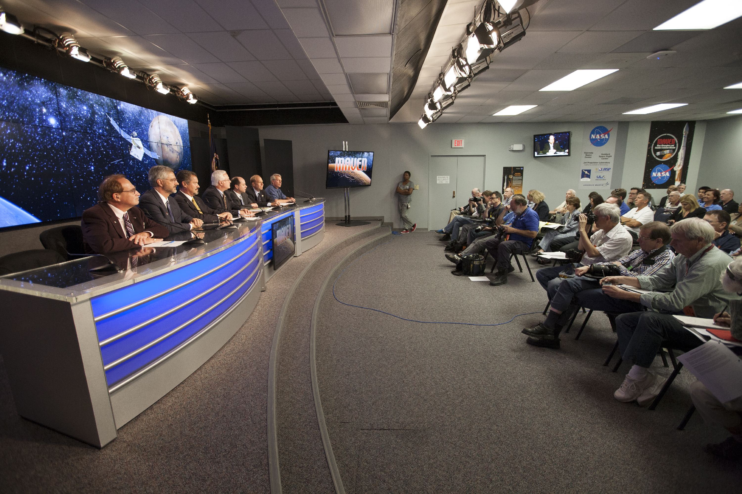 Officials Discuss MAVEN Launch Prep