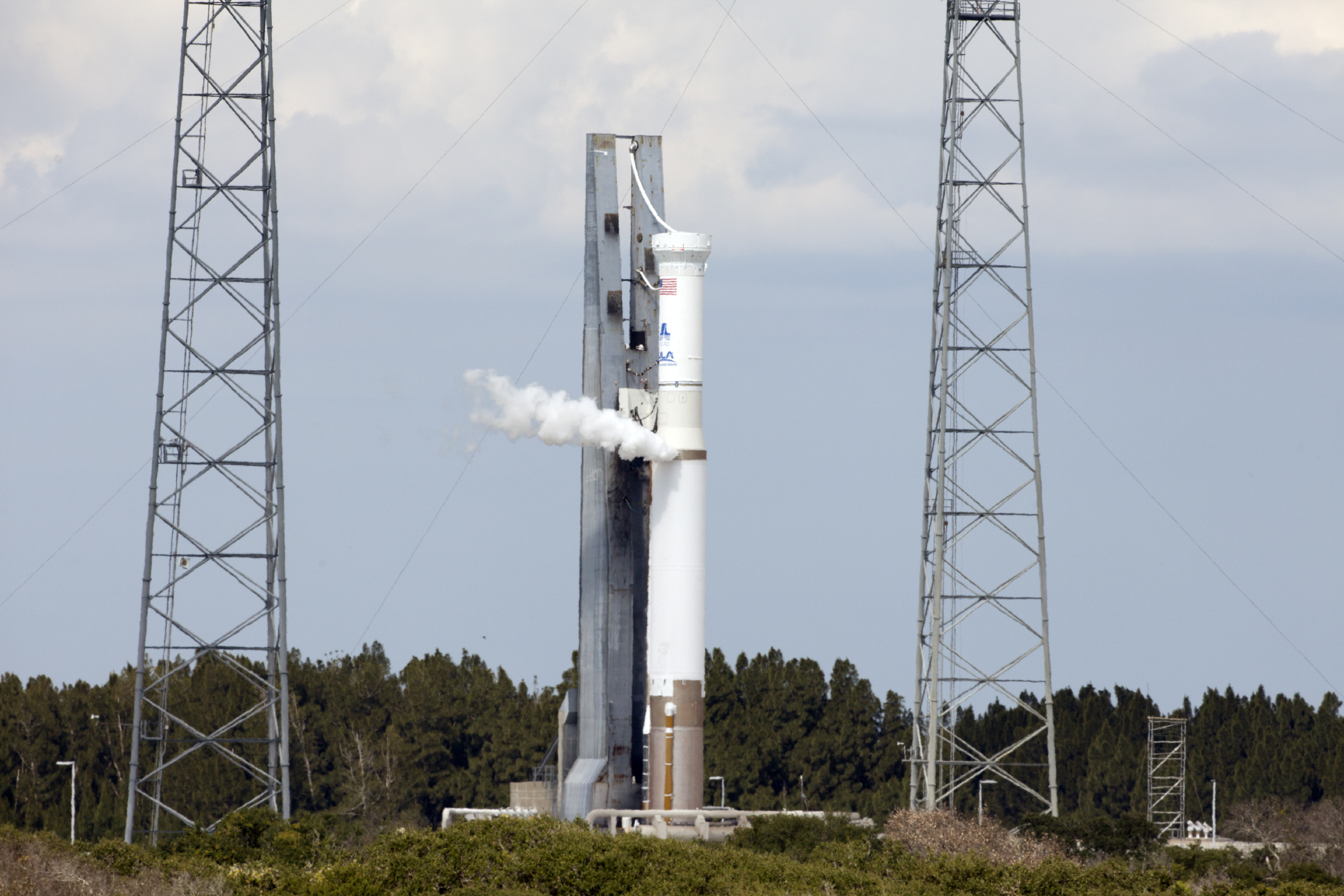 Atlas V Rocket's 'Wet Dress Rehearsal'
