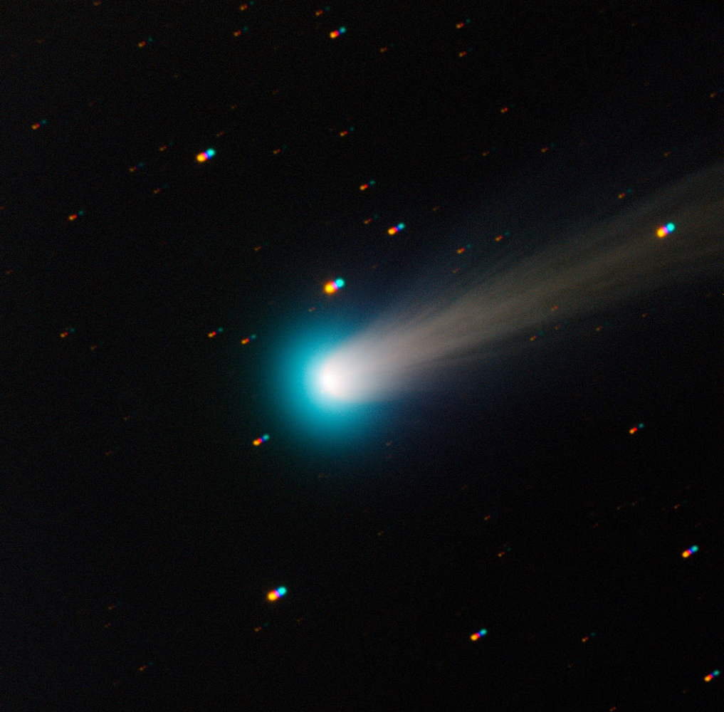 Comet ISON Seen by TRAPPIST Telescope at La Silla Observatory