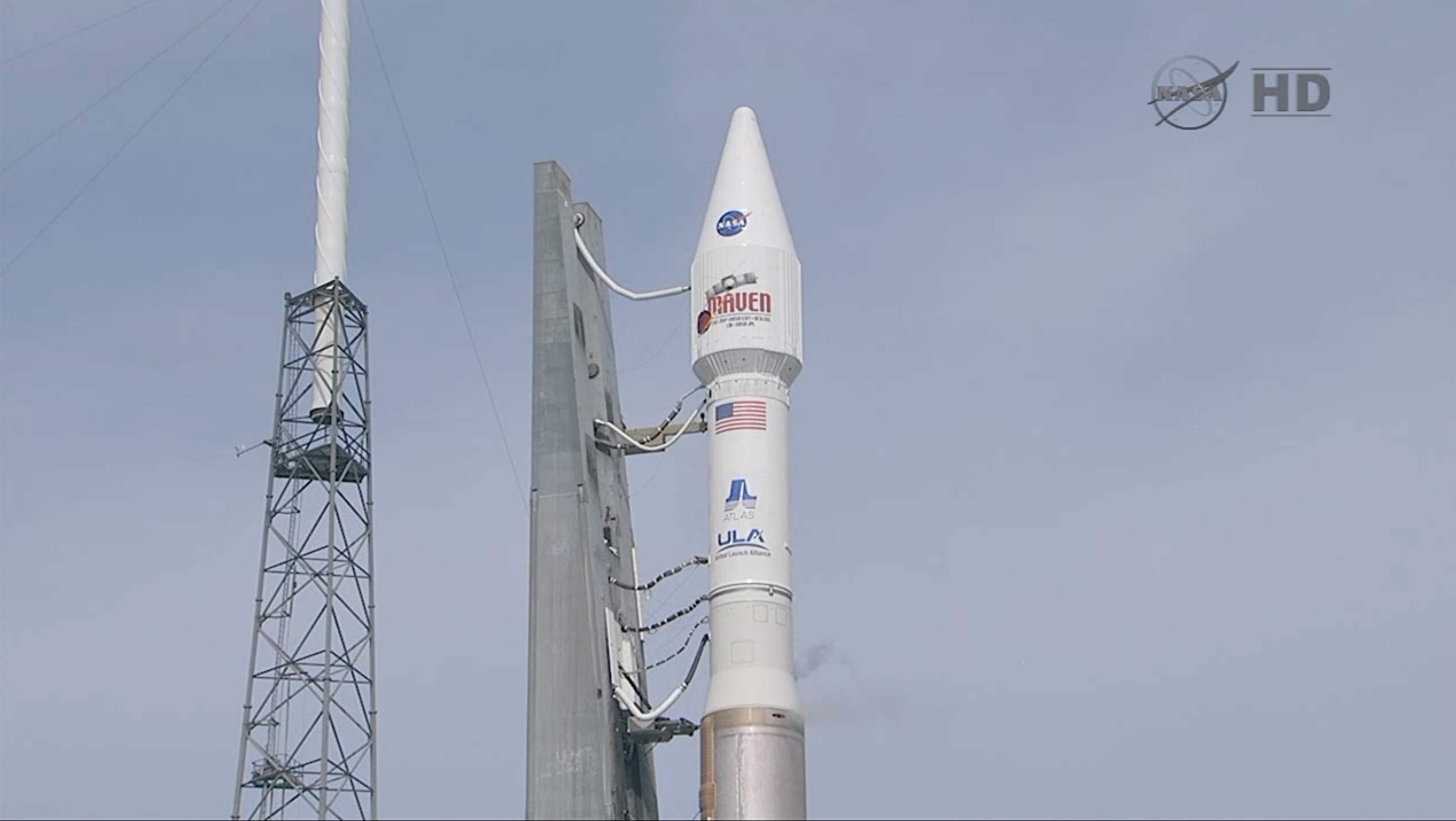 MAVEN Awaits Launch