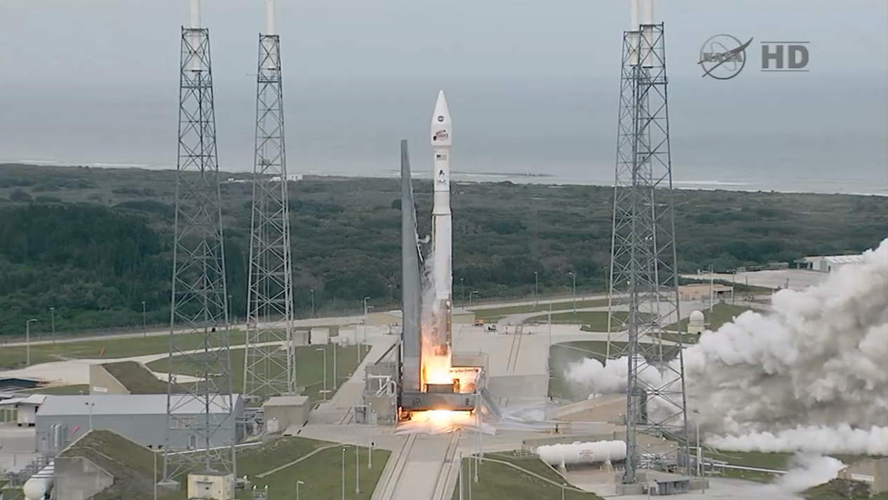 MAVEN Spacecraft Launches on Nov. 18, 2013