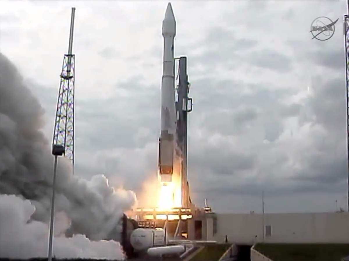 Low Angle of MAVEN Launch