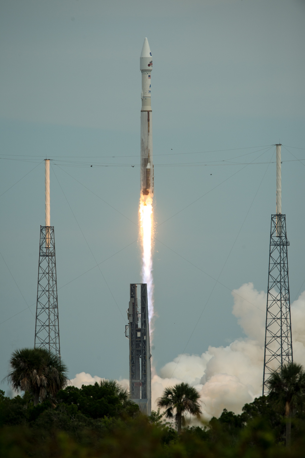 Atlas 5 Rocket Launches MAVEN Mars Probe