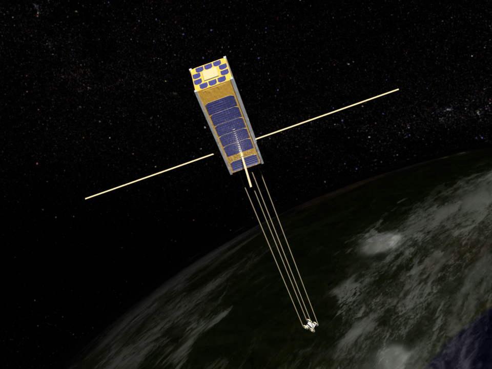 Firefly Satellite in Low-Earth Orbit