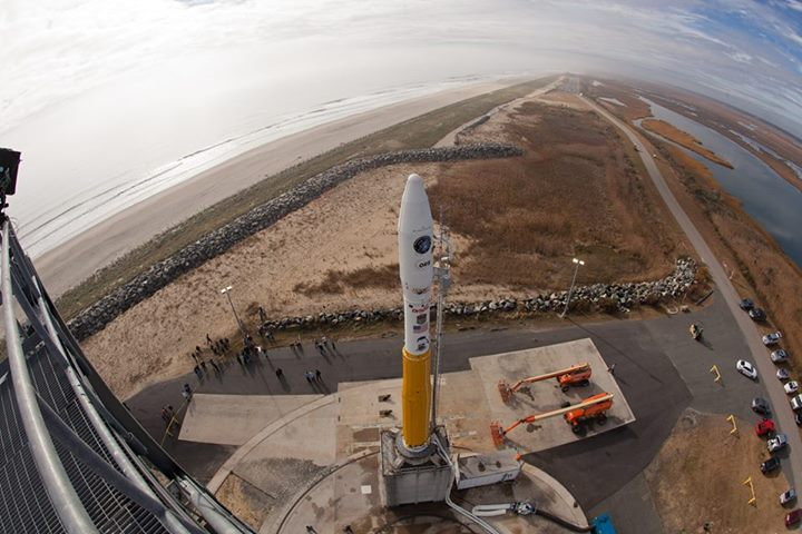 Minotaur 1 Rocket Ready to Launch ORS-3