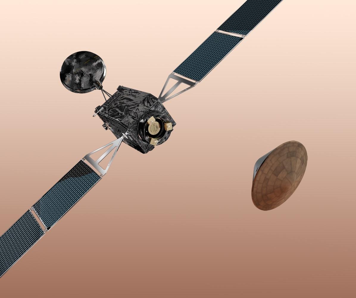 ExoMars Trace Gas Orbiter and Schiaparelli