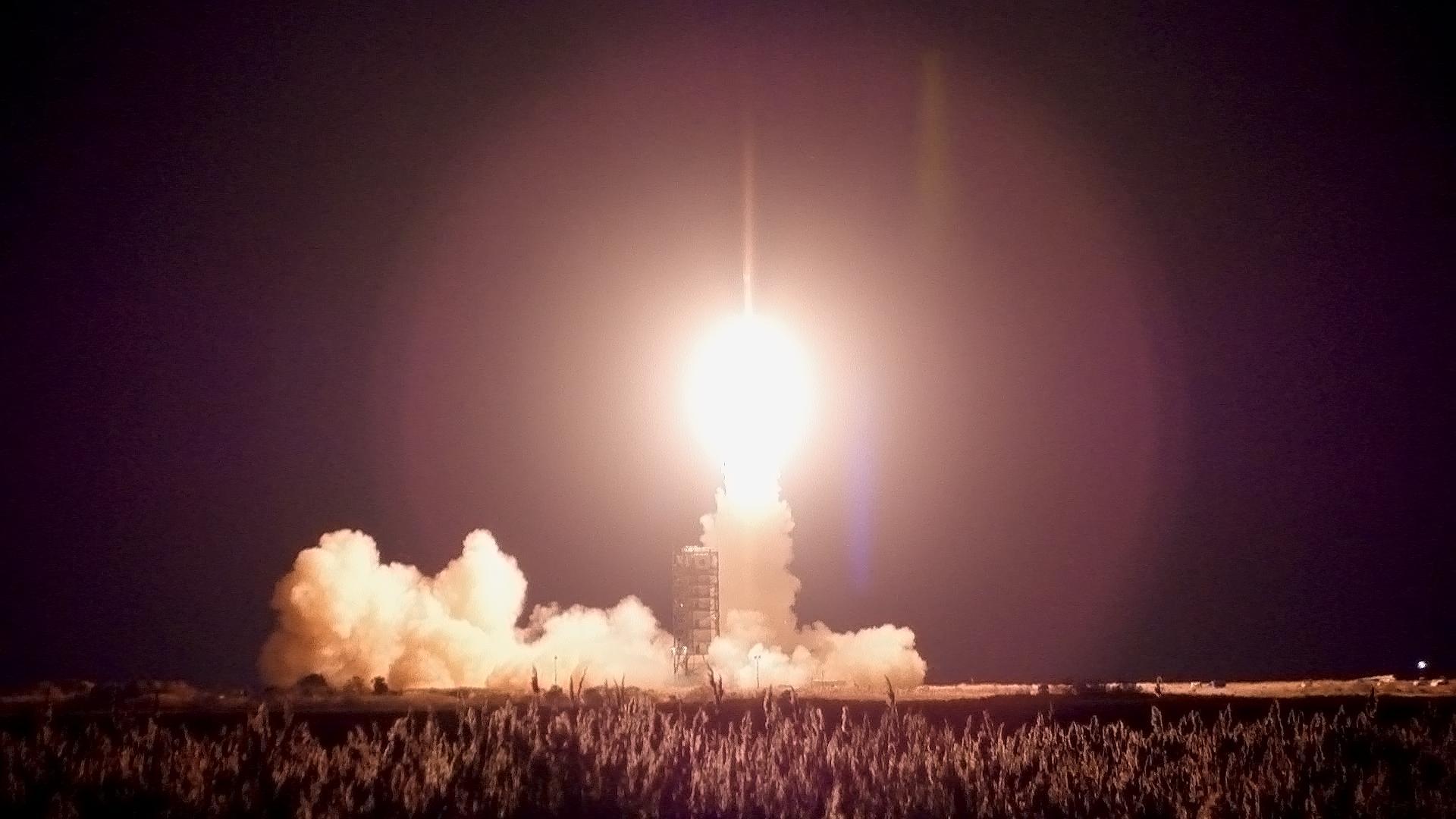 Minotaur 1 Rocket Launch: Nov. 19, 2013