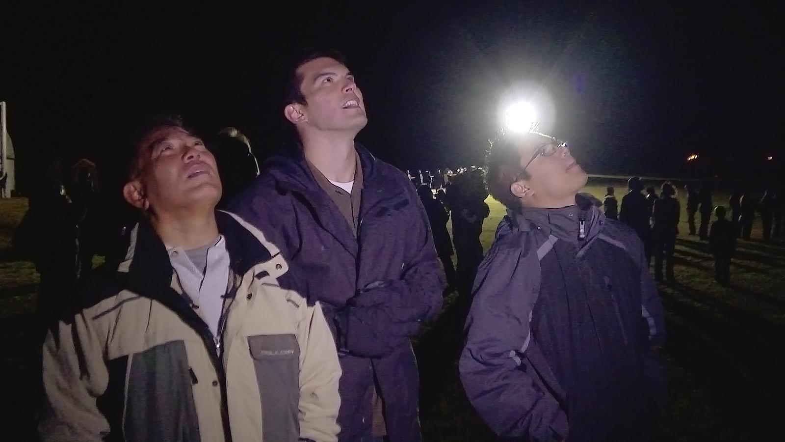 Minotaur 1 Rocket Launch: Spectators