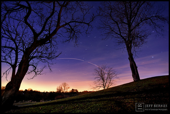"Photographer <a href=""http://www.jeffberkesphotography.com/"">Jeff Berkes </a> captured this amazing long-exposure view of a Minotaur 1 rocket launch as seen from Southeastern, Pa., of Nov. 19, 2013. The rocket launched from NASA's Wallops Flight Facility on Wallops Island, Va., carrying 29 satellites for the U.S. Air Force's ORS-3 mission and was visible to millions of observers along the U.S. East Coast."