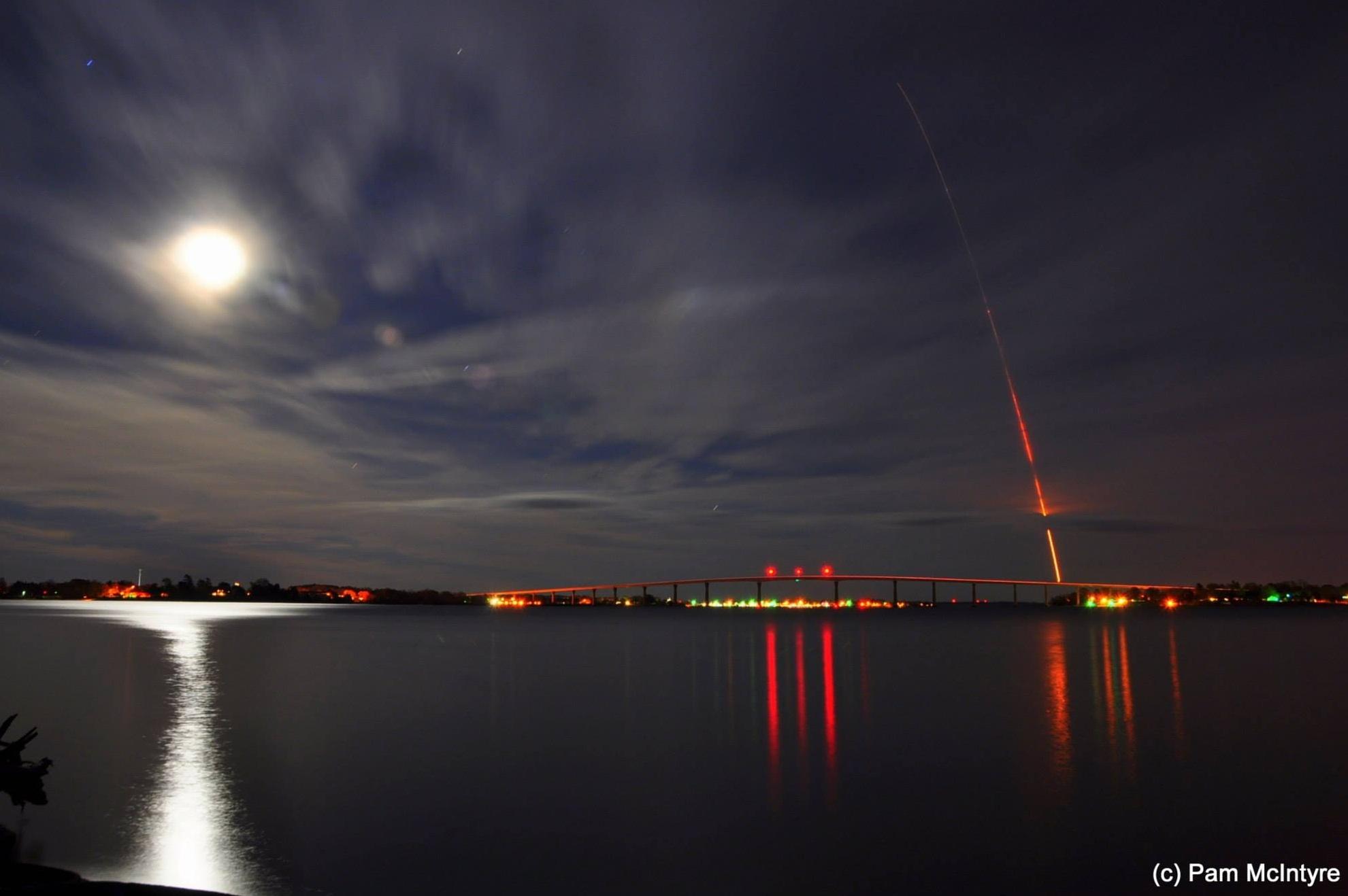 Minotaur 1 Rocket Launch: Pamela McIntyre