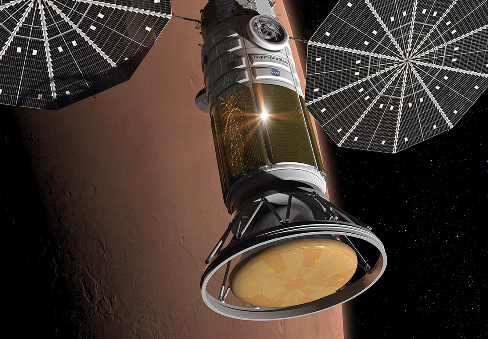 Details of 1st Private Manned Mars Flyby Mission Unveiled