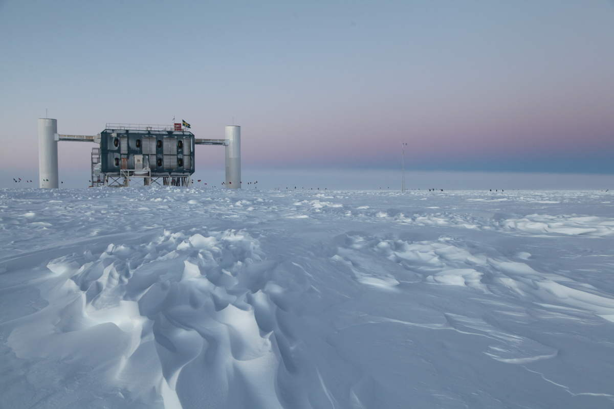 IceCube Laboratory at the South Pole