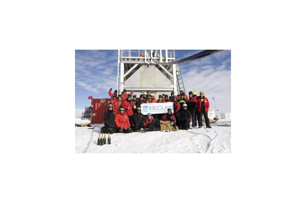 Completion of the IceCube Neutrino Observatory