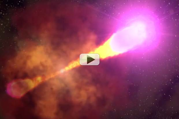 Most Brilliant Explosion In the Universe - Gamma-Ray Burst Animation