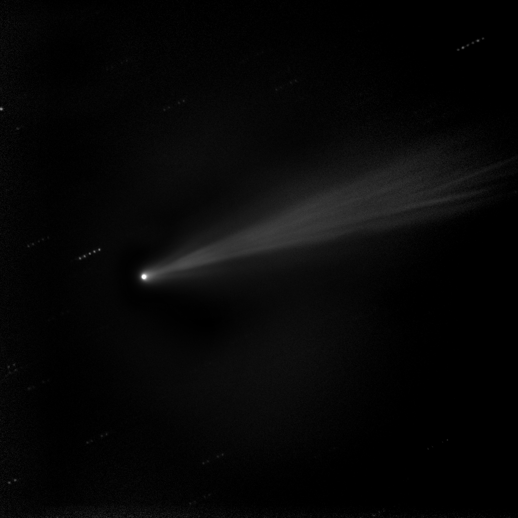 Comet ISON Enhanced