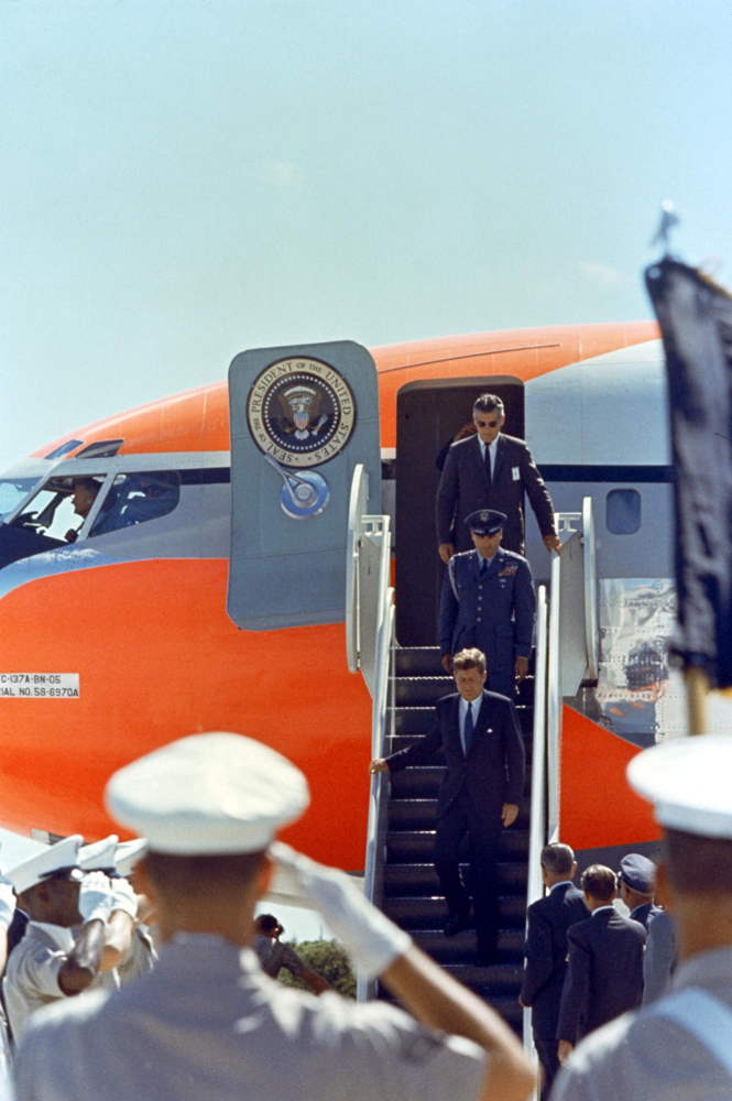 President John F. Kennedy Visits Kennedy Space Center