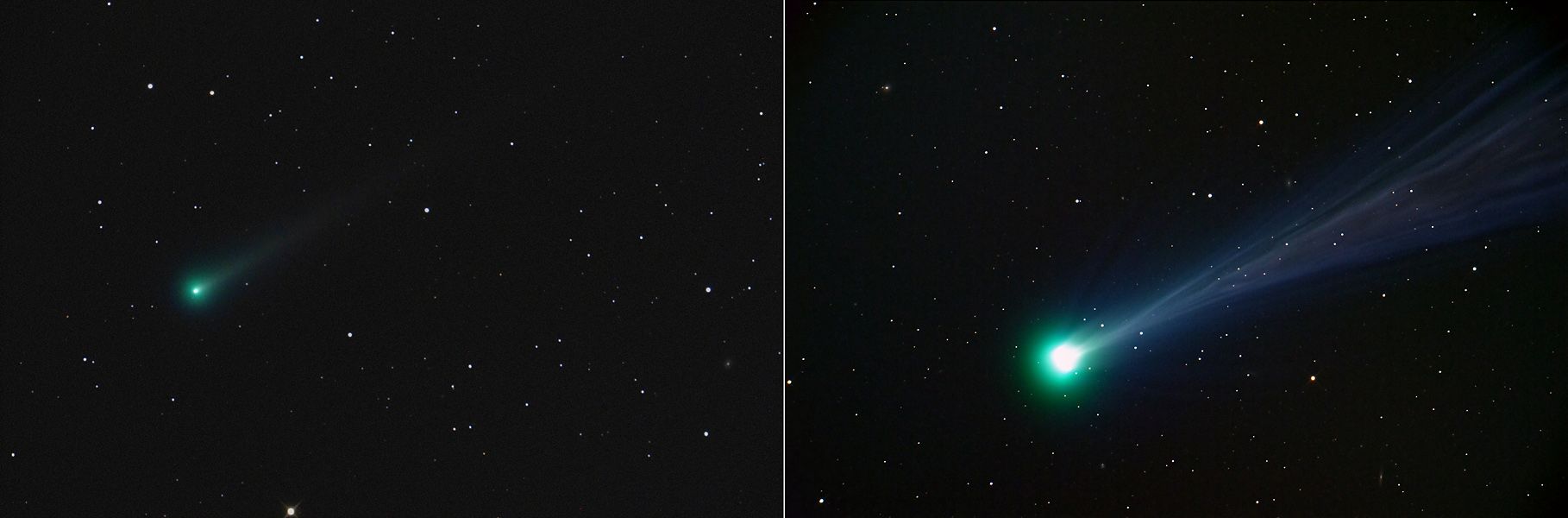 Comet ISON in Outburst