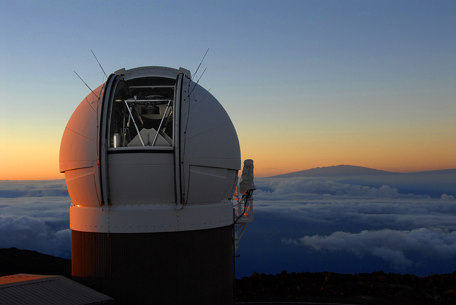 Pan-STARRS Telescope in Hawaii