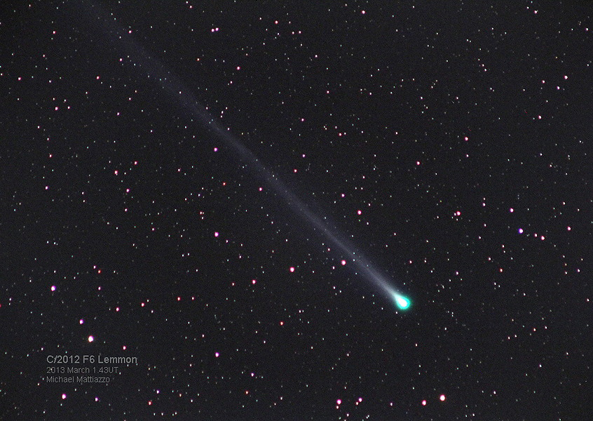A Green Comet Lemmon
