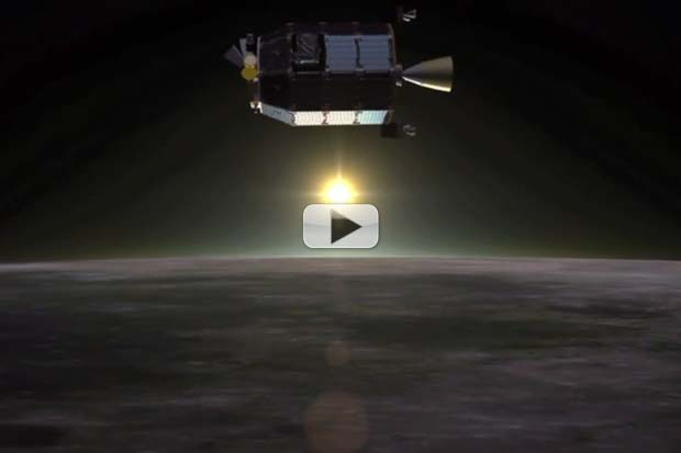LADEE Starts Science Operations From Lunar Orbit