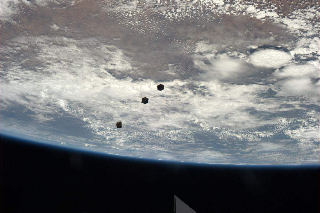 Space Station Astronauts Fire-Up Awesome 'Cubesat Cannon'
