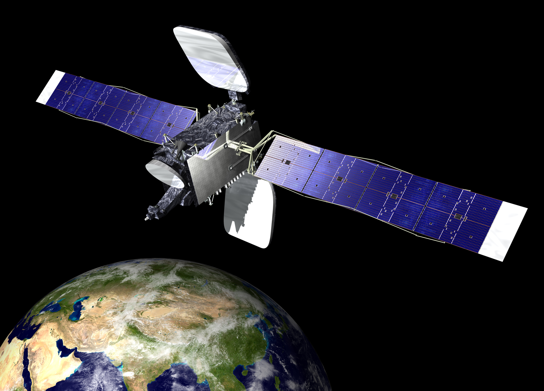 SES-8 Satellite