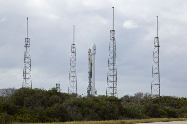 SpaceX Delays Milestone Commercial Satellite Launch Due to Technical Glitch