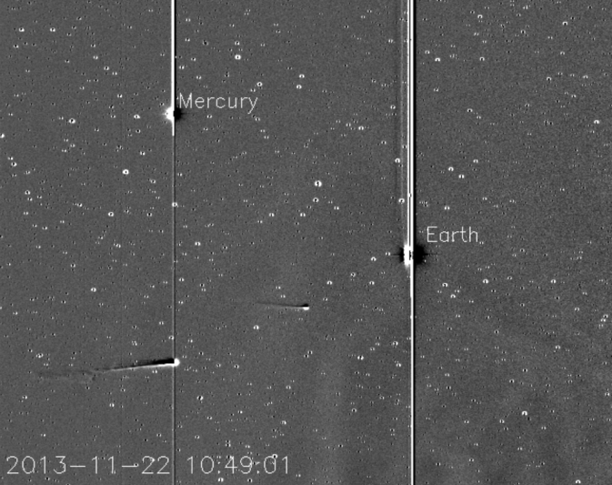 NASA'S STEREO Shows Comet ISON Approaching Sun