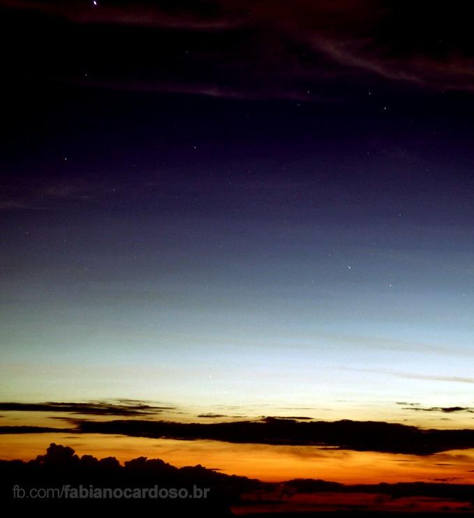 Comet ISON over Paraná, Brasil