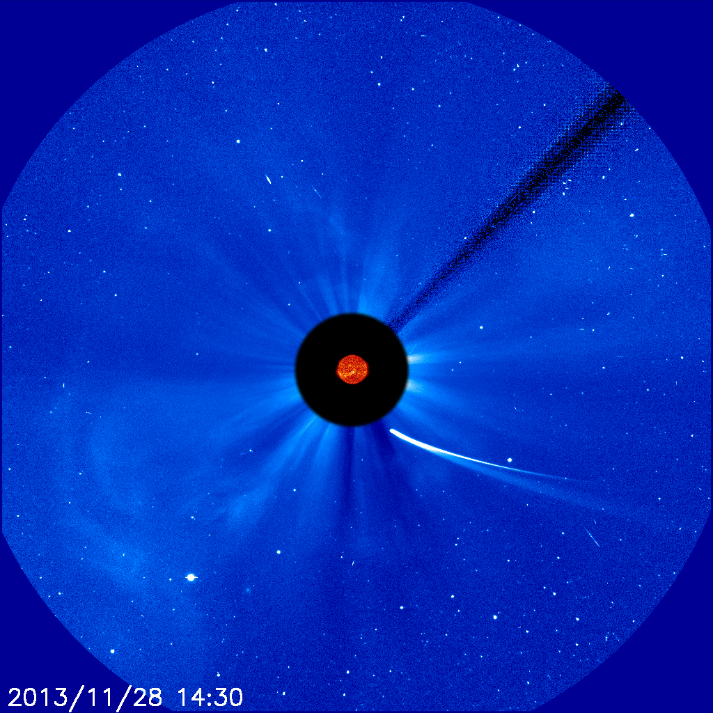 Comet ISON on Nov. 28, 2013: 9:30 am