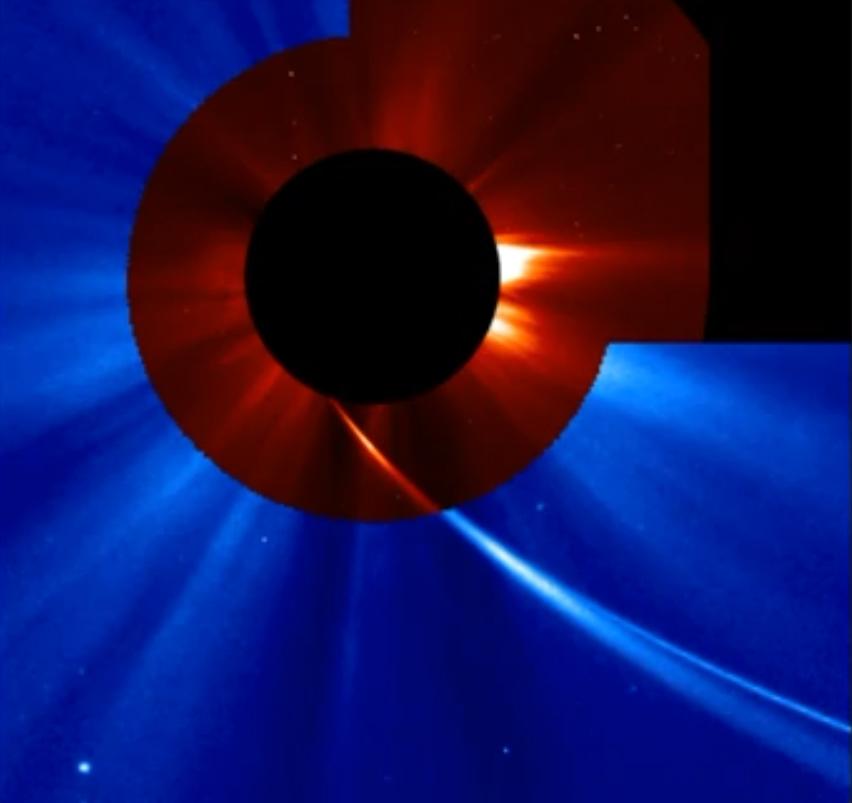 Comet ISON Near Sun