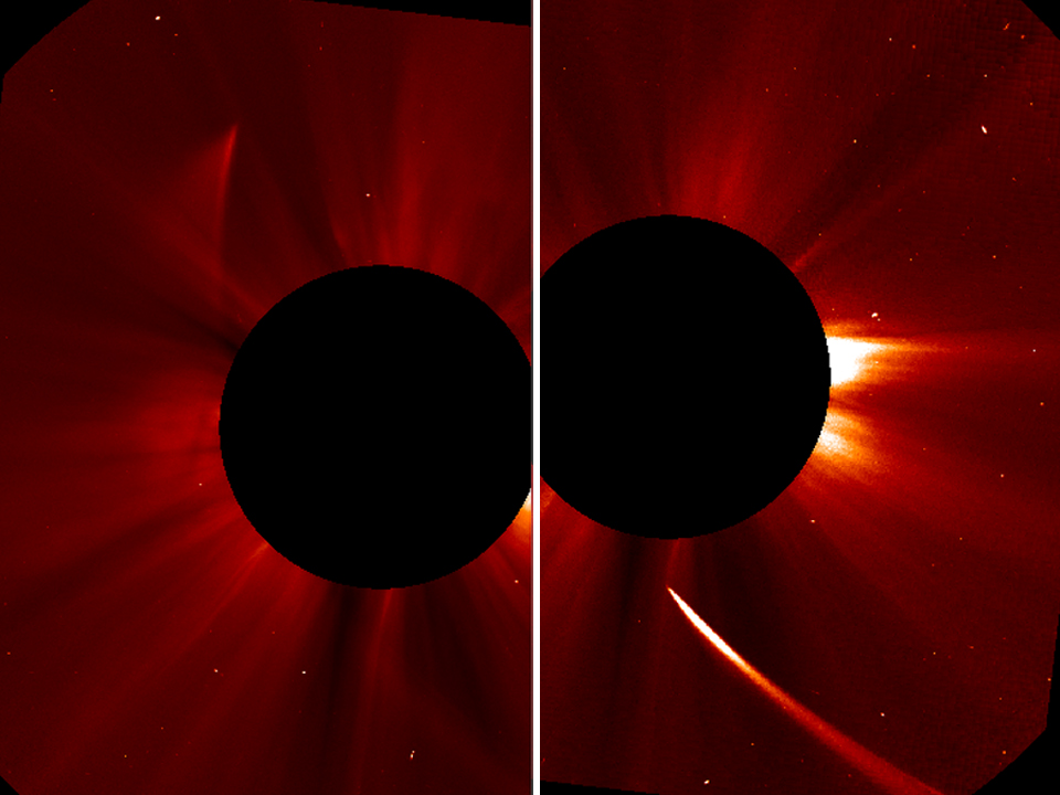 Comet ISON Survives Sun Flyby?