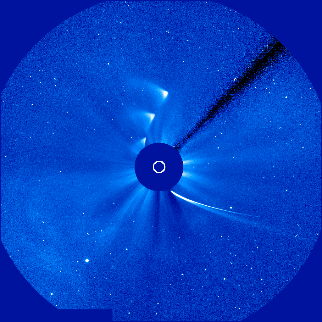 14. Most comets are spotted with a sun-gazing telescope