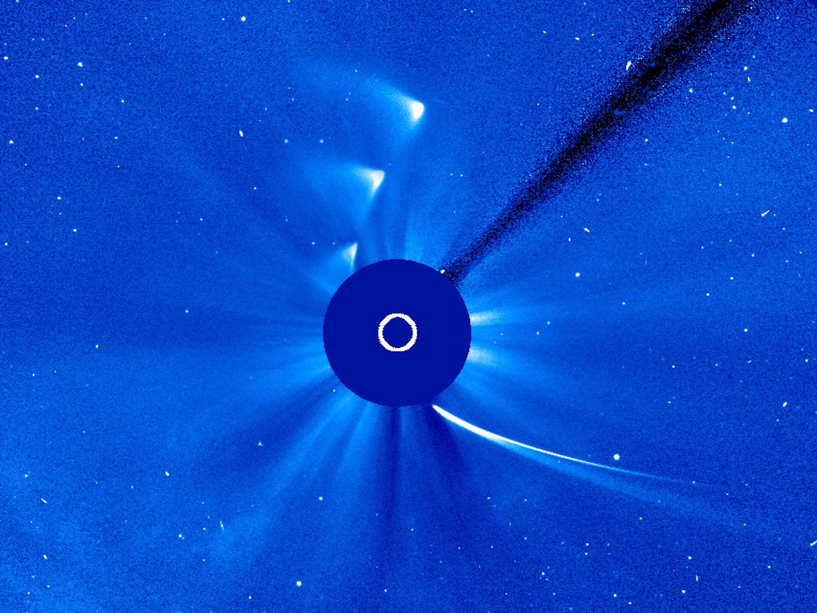 ISON's Dance with the Sun | Space Wallpaper