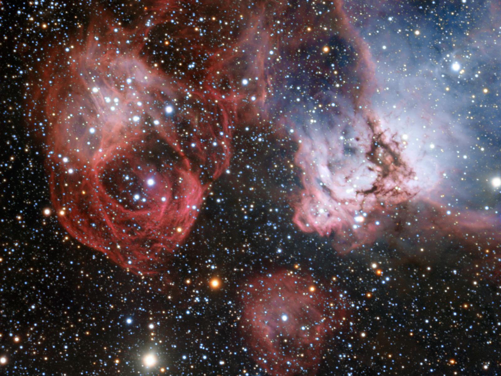 Stellar Drama | Space Wallpaper