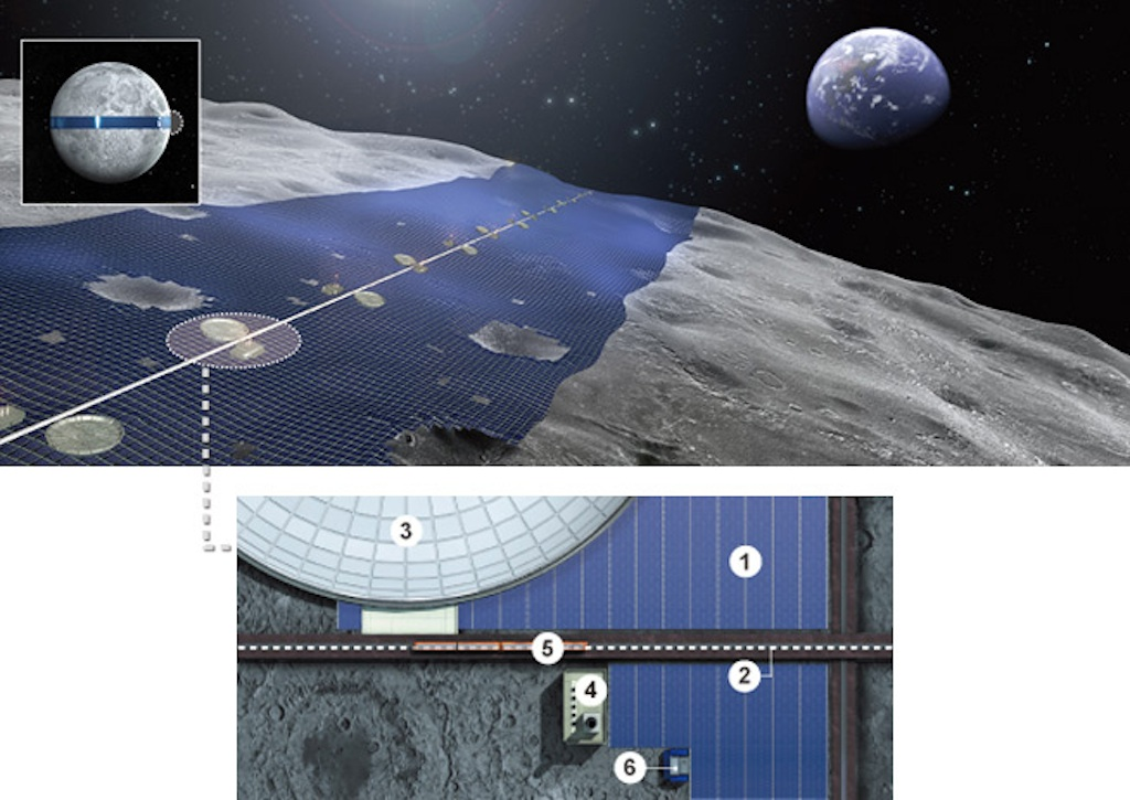 How to Turn the Moon Into a Giant Space Solar Power Hub
