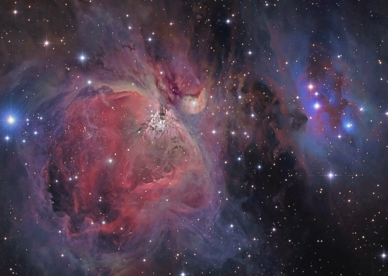 Magnificent Orion Nebula Captured by Amateur Astronomer (Photo)