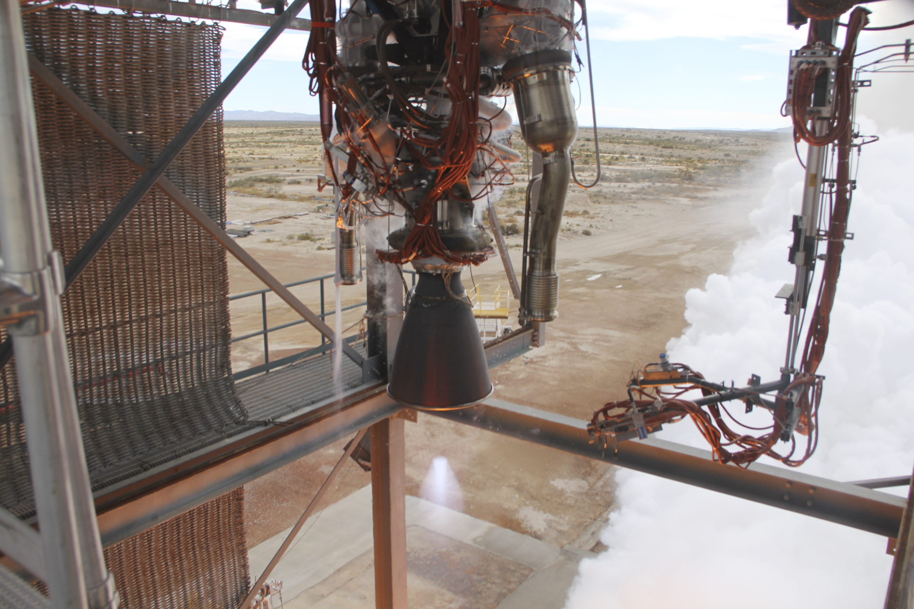 Blue Origin Test-Fires New Rocket Engine